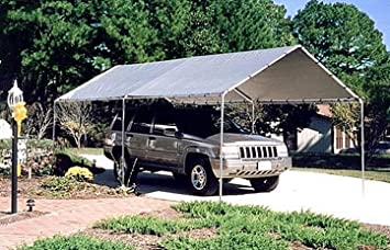 Outdoor Carport Canopy 10x20 ft. Waterproof Shelter Pop Up Tents Gazebo Instant Awnings Patio Garden & Amazon.com: Outdoor Carport Canopy 10x20 ft. Waterproof Shelter ...