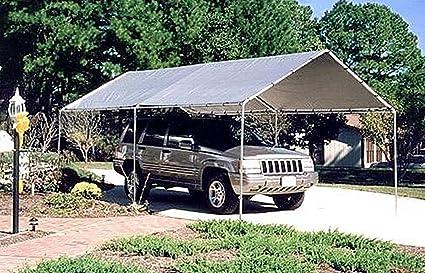 sale retailer 5088e 0a924 Amazon.com: Outdoor Carport Canopy 10x20 ft. Waterproof ...