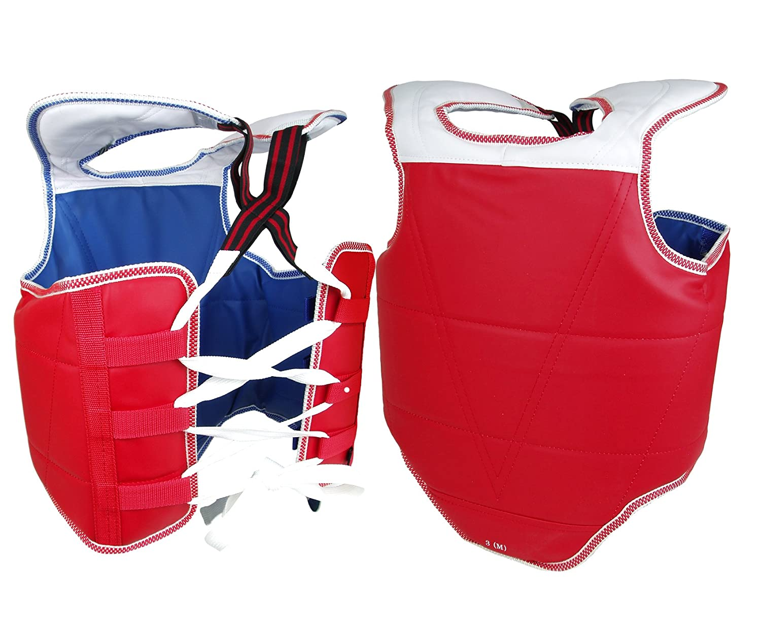 PROWIN1 New Martial Arts Chest Guard Reversible Body Protector Taekwondo Sparring Gear