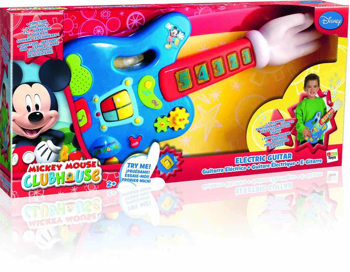 Mickey Mouse 180109 - Elektronische Gitarre: Amazon.de: Spielzeug