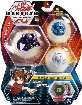 BAKUGAN Starter Pack - Pack Darkus Gorthion: Amazon.es: Juguetes y ...