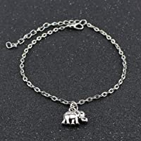 Anklet Cute Animal Elephant Pendant Anklet Bracelet Sandal Beach Barefoot Foot Jewelry for Women