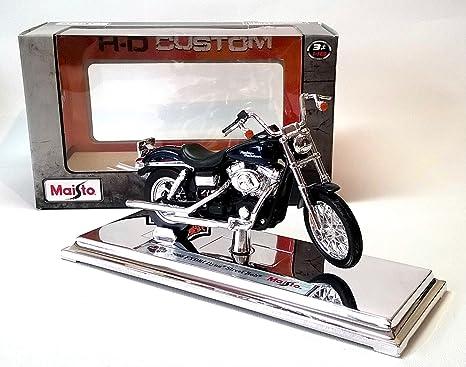 Maisto Harley Davidson 2006 FXDBI Dyna Calle Bob 1/18 Maqueta Moto