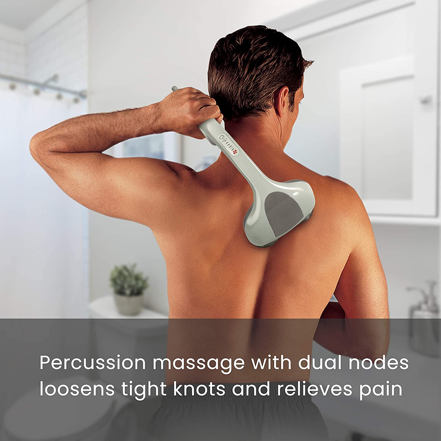 HoMedics percussion action plus massager