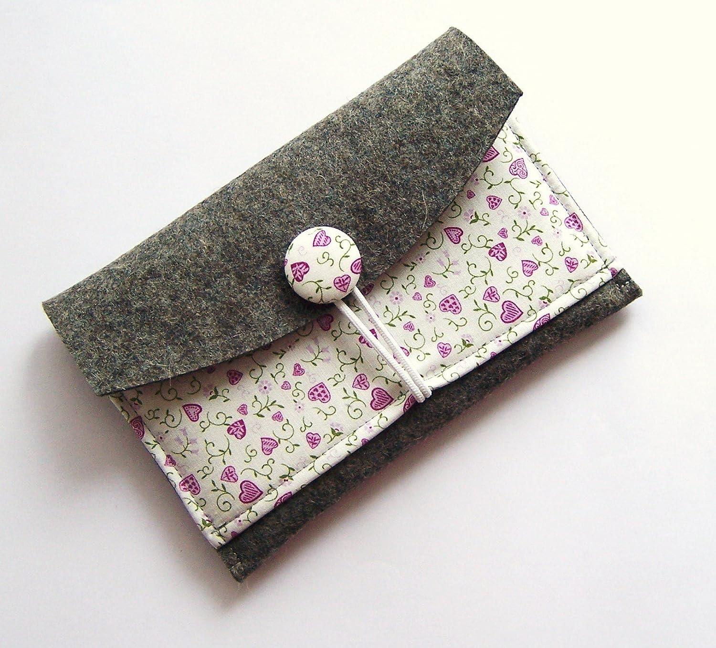eBook Reader Tasche aus Wollfilz für Kindle Paperwhite Geschenk Weihnachten Geburtstag