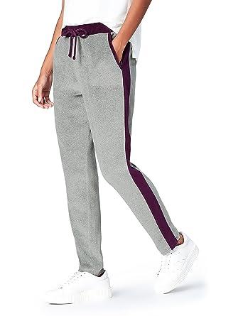 FIND Pantalones Estilo  Jogger  de Terciopelo para Mujer  Amazon.es ... 032afab49e1