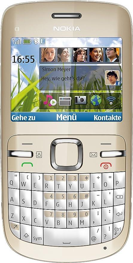 Nokia C3 - Móvil libre (pantalla de 2,4