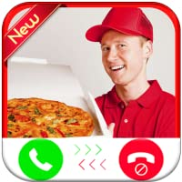 Pizza Delivery 2 Calling You - Free Fake Phone Call ID - Prank Game Call