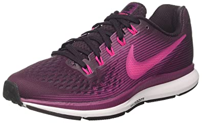 factory price 58eee 8314c Nike WMNS AIR Zoom Pegasus 34 Chaussures de Running Femme, (Vin Porto Rose