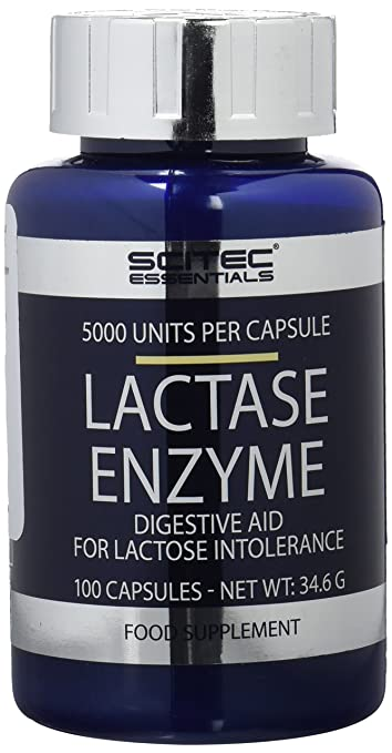 Amazon.com: Lactase - 100 capsules - Scitec essentials by ...