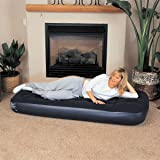 Bestway Inflatable Blow Up Flocked Guest Sleeping Airbed Single Double Mattress
