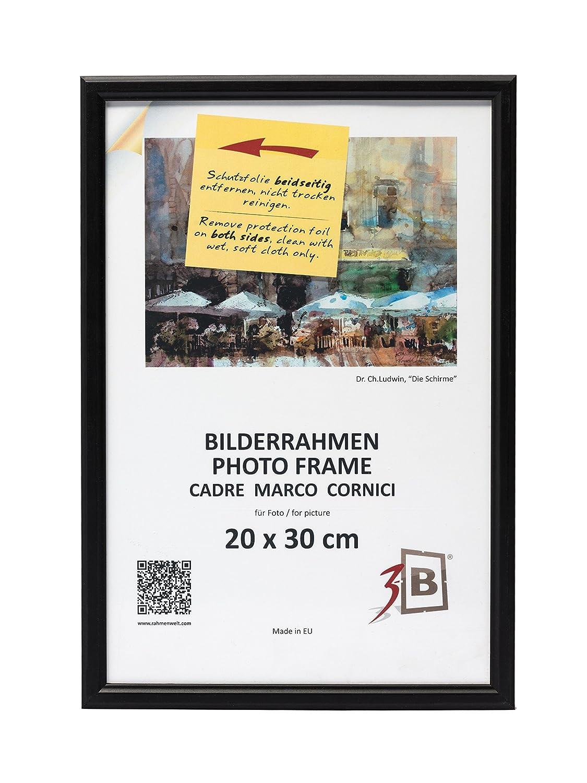 3-B Set 5 Stk. - Bilderrahmen Jena - schwarz - 20x30 cm - Holzrahmen ...