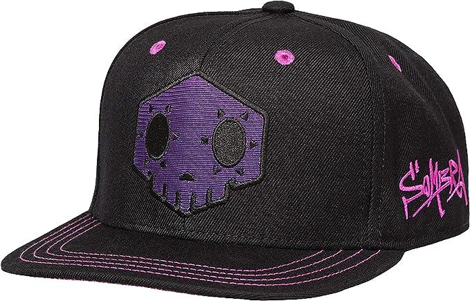 JINX Overwatch Sombra Snapback Gorra de béisbol, negro, talla ...