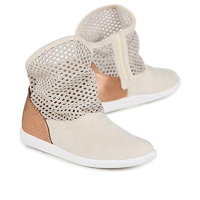 317726967cd Amazon.com | EMU Australia W11071 Women's Numeralla Boot, Natural/Rose Gold  - 6 | Ankle & Bootie