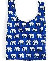 Baggu Standard Reusable Shopping Bag, Elephant Blue