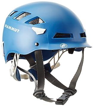 Mammut Helm El Cap - Casco de escalada, color azul, talla 52-57cm