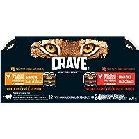 Crave Wet Cat Food - Chicken & Beef - 75g (12-Pack)