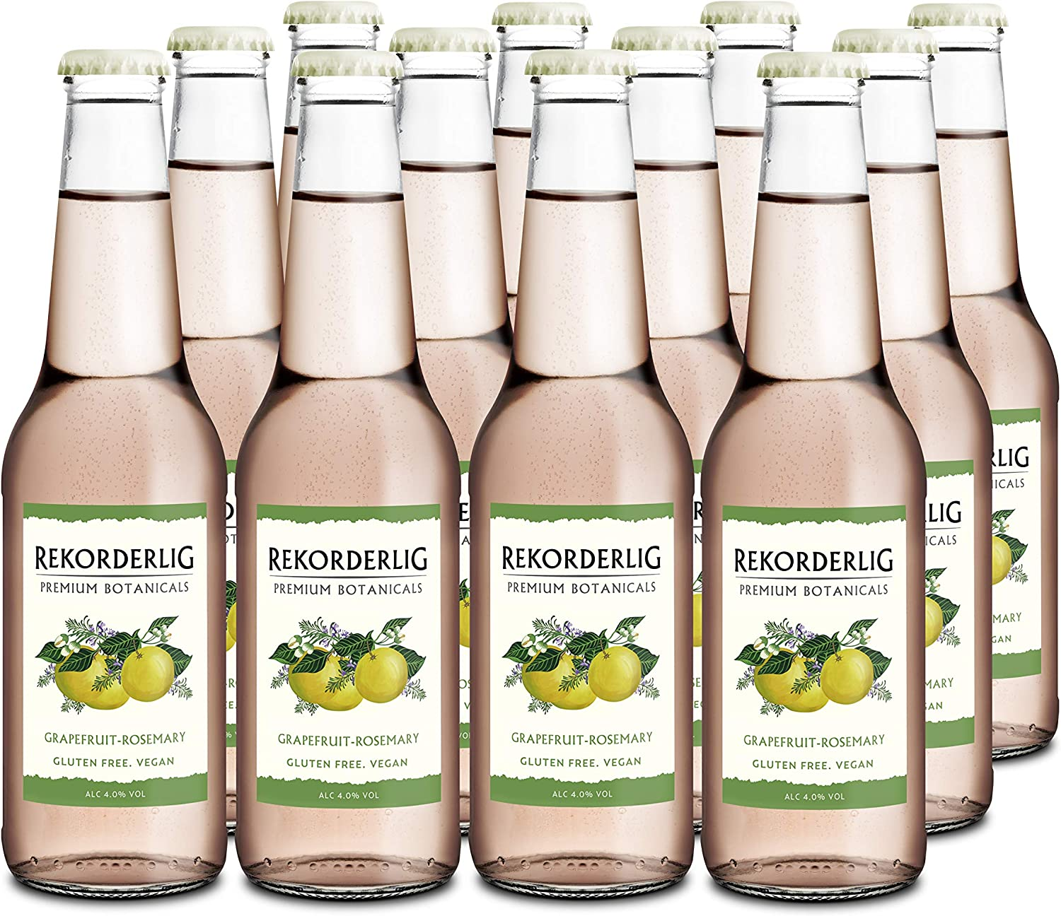 Rekorderlig Botanicals Grapefruit & Rosemary Cider 12 X 330ml Bottles