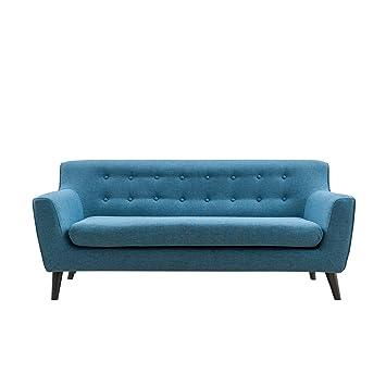 Amazon.com: Magari muebles Mid Century sofá tapizado con ...