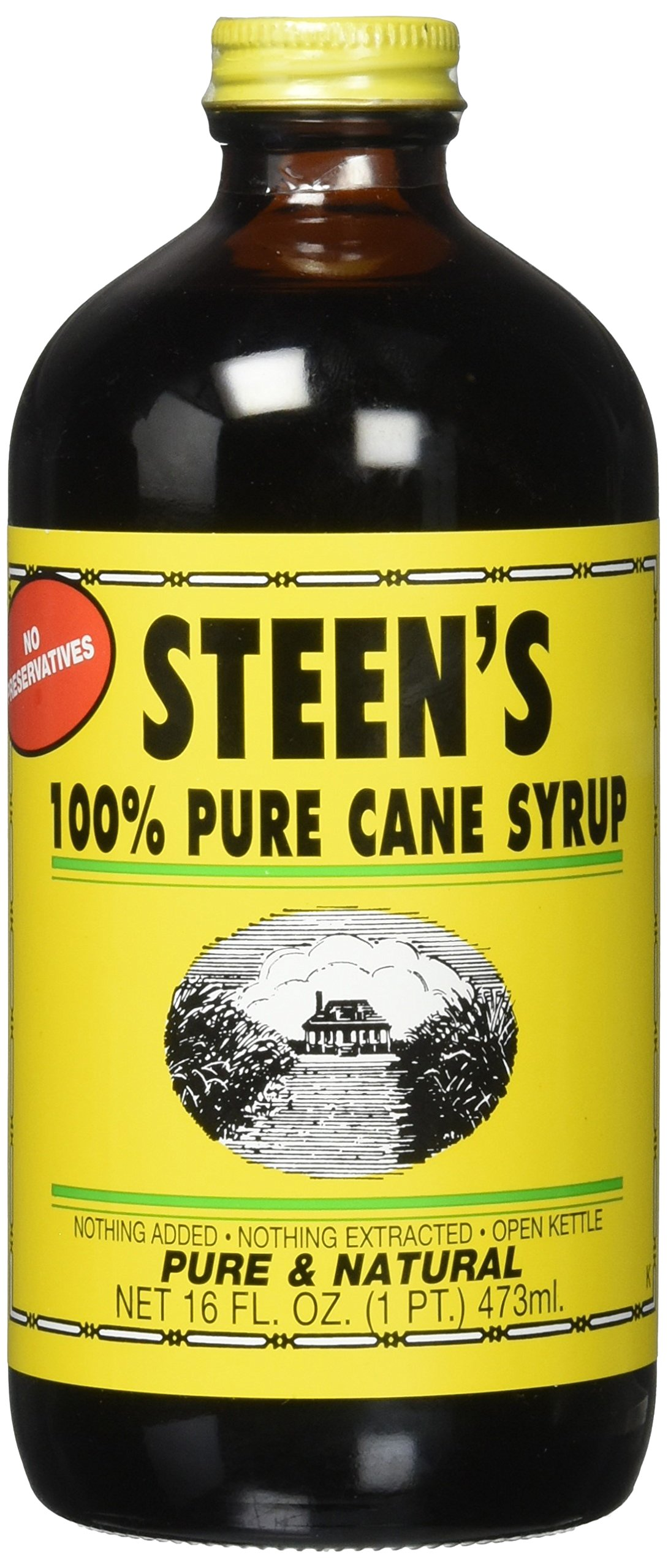 Amazon Com Cane Syrup Steen S 100 Pure 12 Fl 0z