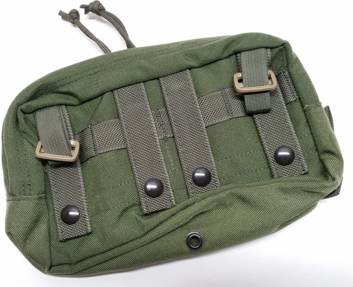 Eagle Industries DFLCS Small Utility Pouch 100 SAW OD Olive Drab MOLLE DF-LCS