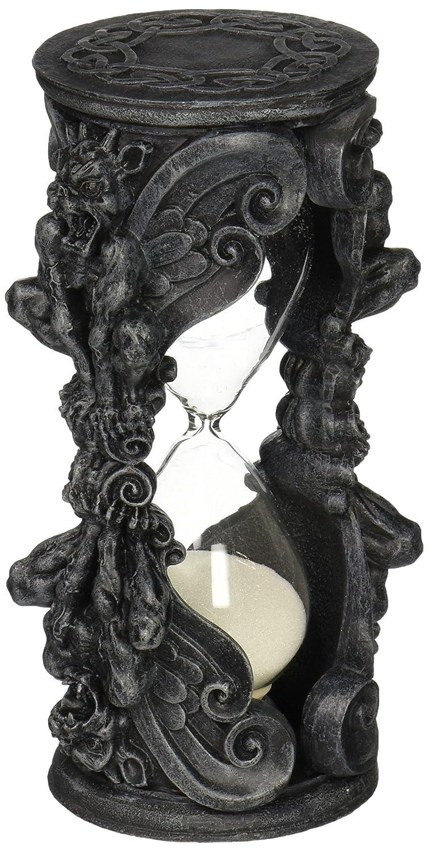 Gray Stone Design Toscano Gothic Grains of Time Gargoyle Hourglass