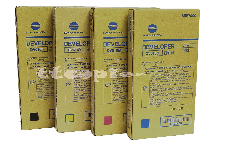 注目の 純正コニカミノルタ A5E7800 (A5E7600 CMYK A5E7700 A5E7800 DV616 A5E7900) DV616 CMYK C1085 C1100用デベロッパー。 B07KNZ94HV, キッズマーケット:e59e856f --- svecha37.ru