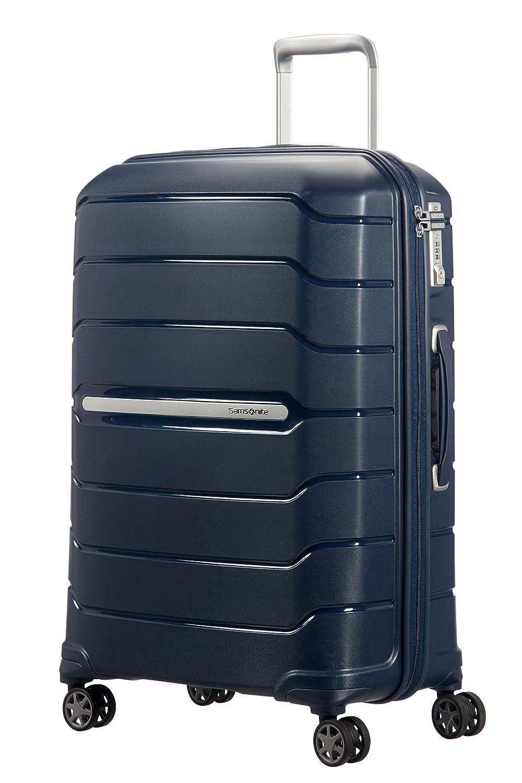 SAMSONITE Flux - Spinner 68/25 Expandable Bagage cabine, 68 cm, 95 liters, Navy Blau
