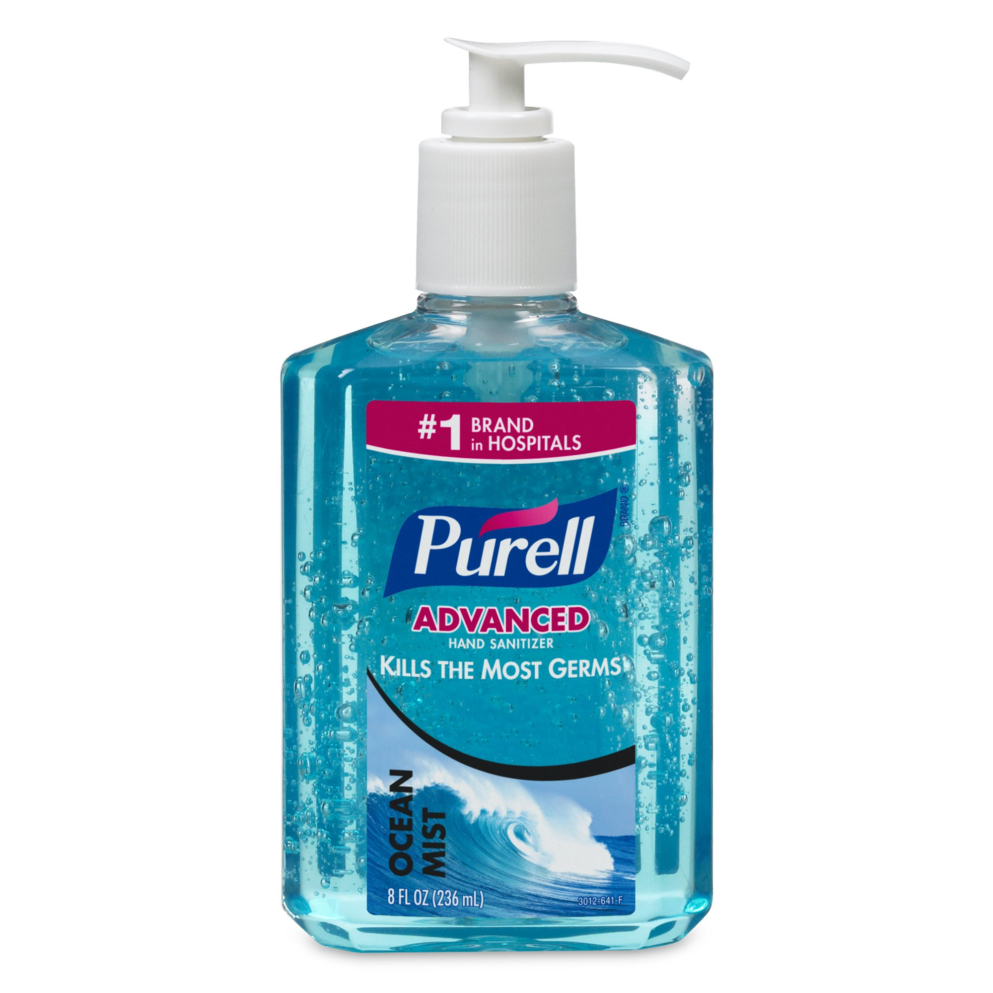 Purell 3012-12 Pump Bottle, Ocean Mist, 8 Ounce (Pack of 12)