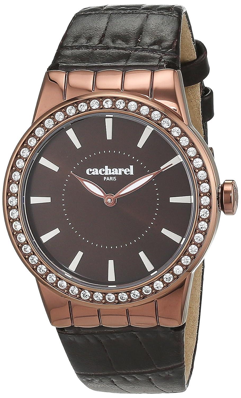 Cacharel Damen-Armbanduhr Analog Quarz Leder CLD 010S-5UU