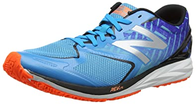 New Balance Herren M460v2 Laufschuhe, Blau (Blue/Orange), 44 EU