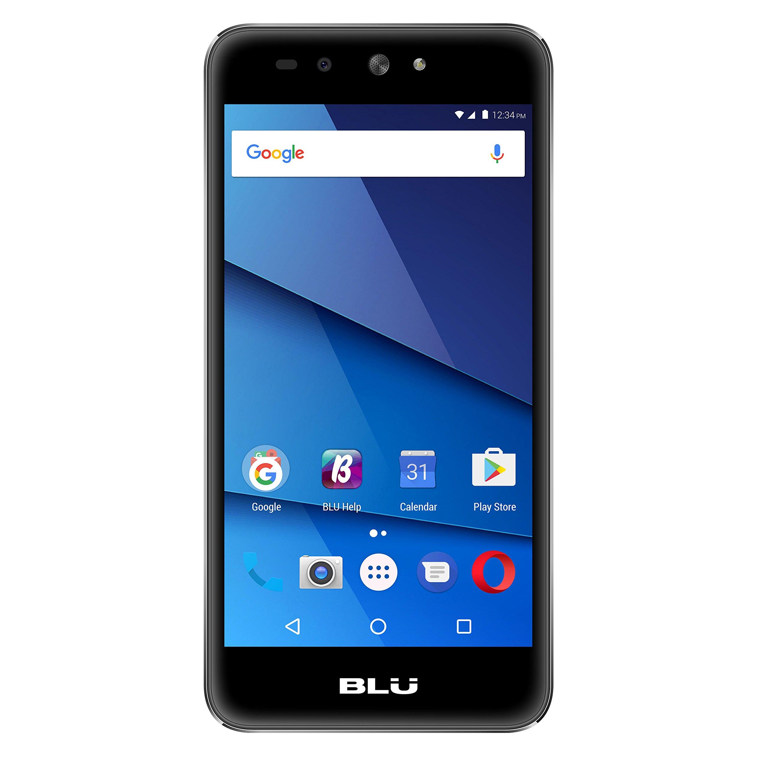 BLU Grand X LTE -Black Factory Unlocked Phone - 5'' Screen - 8GB - Black (U.S. Warranty)