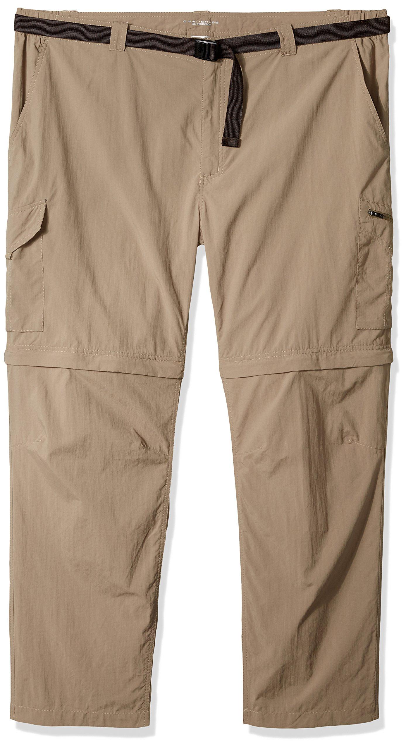 Columbia Men's Silver Ridge Big & Tall Convertible Pants, Sage, 42 x 34 by Columbia