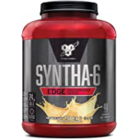 BSN Syntha 6 Edge Whey Protein Powder with Glutamine and Amino Acids. Low Sugar Protein Shake by BSN - Vanilla Ice Cream, 48 Servings, 1.78kg