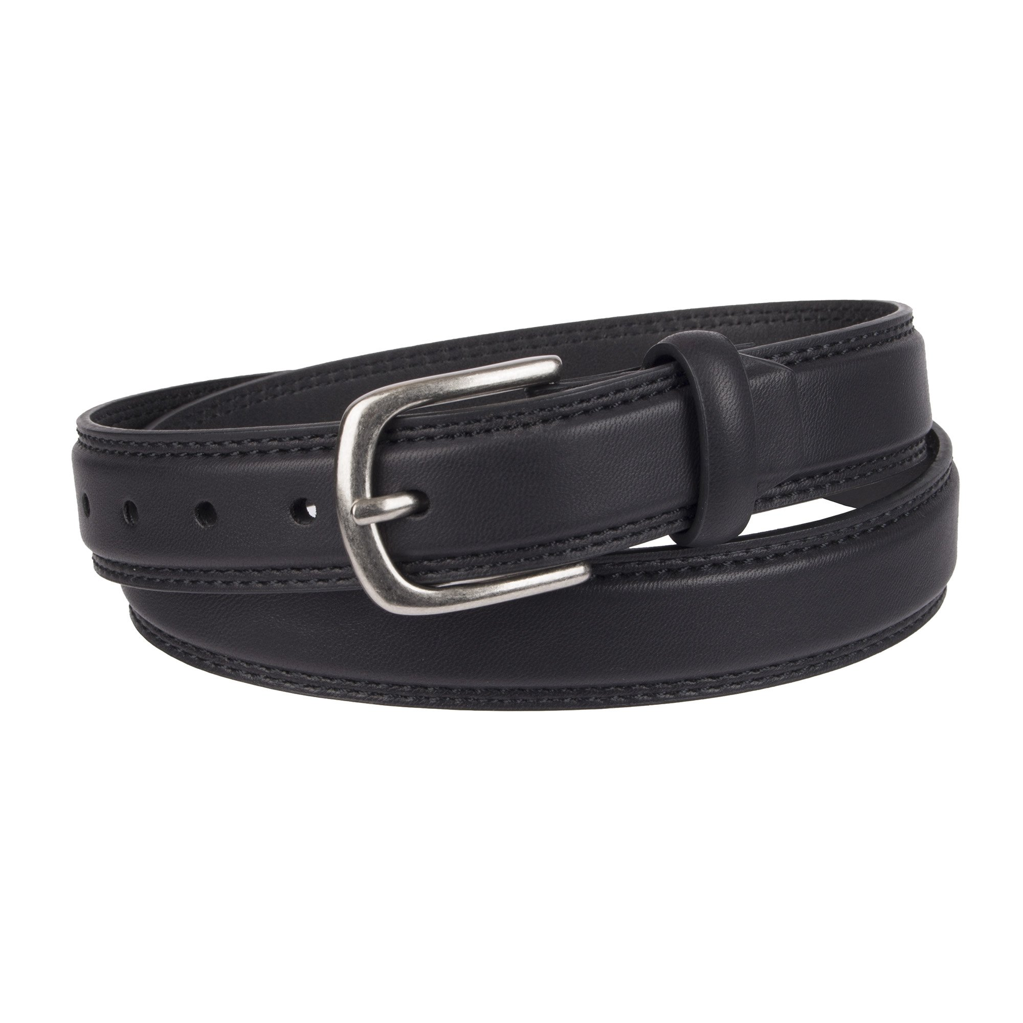 Dockers Big Boy's Casual Belt with Harness Buckle, black, Large