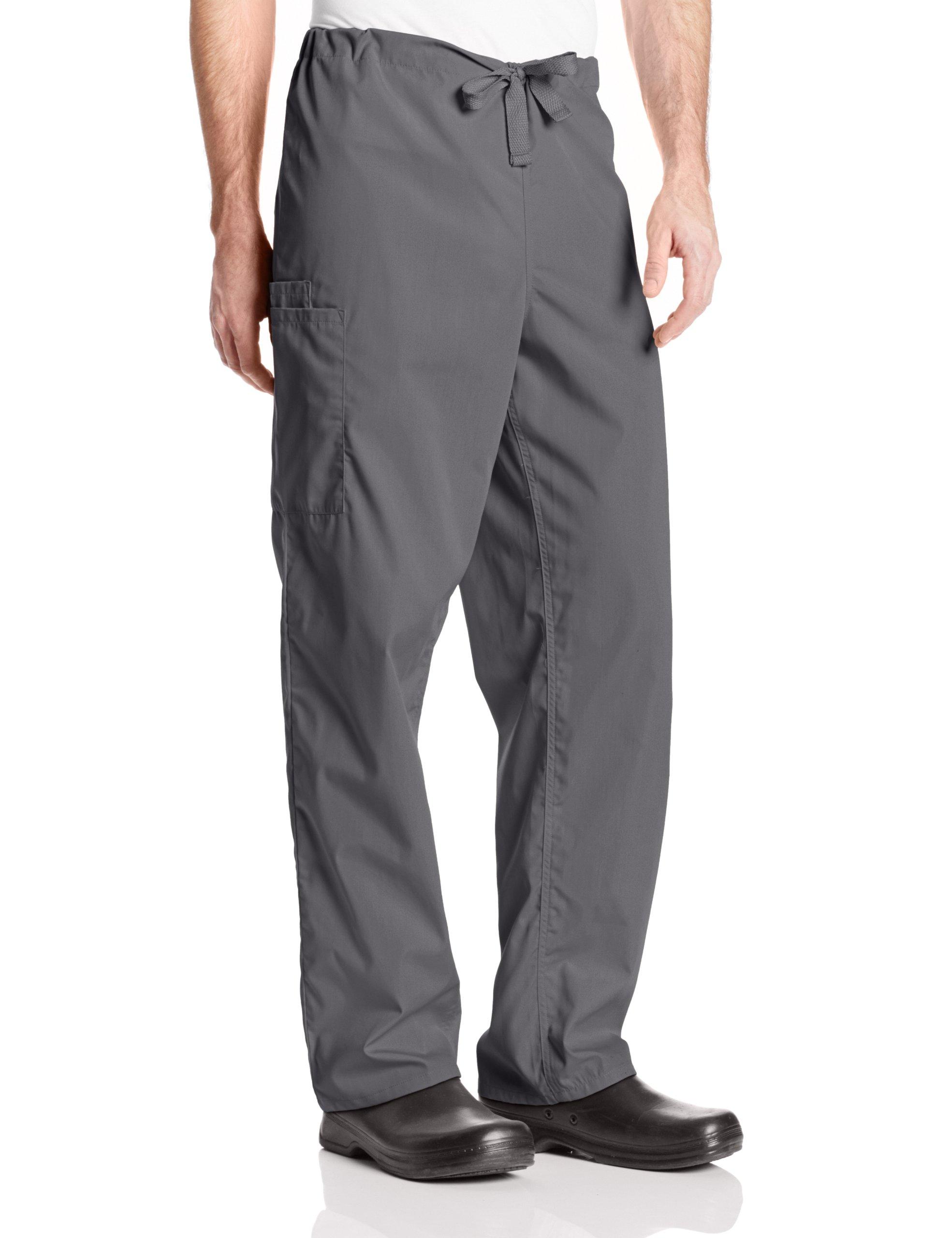 Cherokee Workwear Scrubs Unisex Cargo Pant, Pewter, Large/Tall