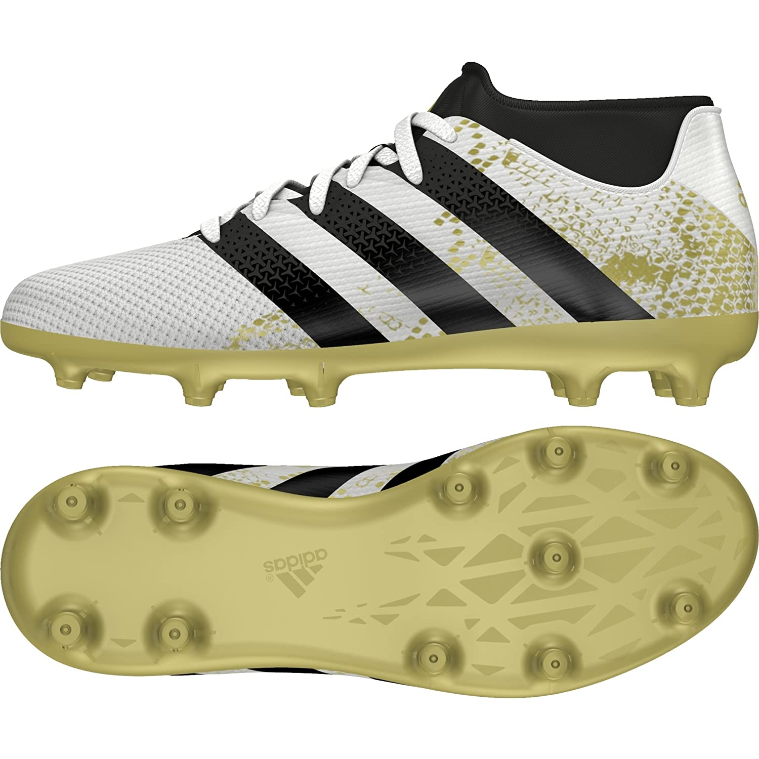 0b76f278c adidas ACE 16.3 PRIMEMESH FG AG J - Football boots for Boys  Amazon.co.uk   Shoes   Bags