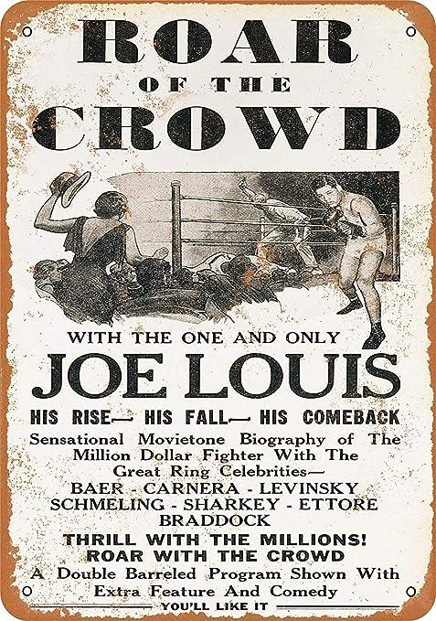 KODY HYDE Póster De Pared Metal - Joe Louis Boxing Movie ...