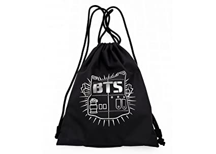 Amazon.com  Kpop BTS Draw String Bags  Office Products