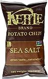 Kettle Chips, Sea Salt, 142g