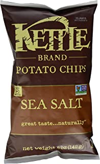 product image for Kettle Brand Natural Gourmet Potato Chips with Sea Salt, 5 oz