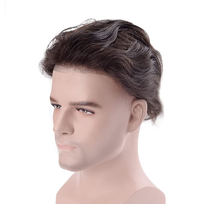 lordhair Cabello humano Stock Mens Hair Pieces
