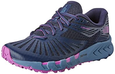 9783437f9 The North Face Women's Corvara Trail Running Shoes, Peacot NVY/PRP ...
