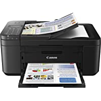 $114 » Canon PIXMA TR4520 Wireless All in One Photo Printer with Mobile Printing, Black, Amazon Dash…