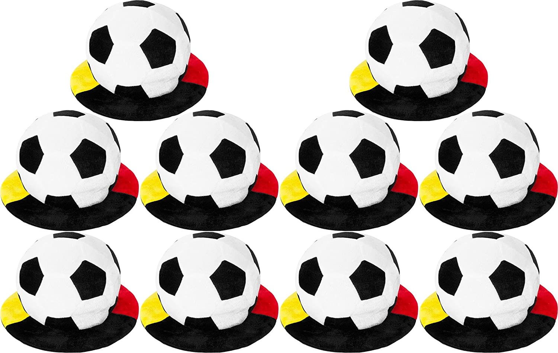 Normani 1, 2, 5 oder 10 Deutschland Fußball Mütze Schlapphut mit Krempe