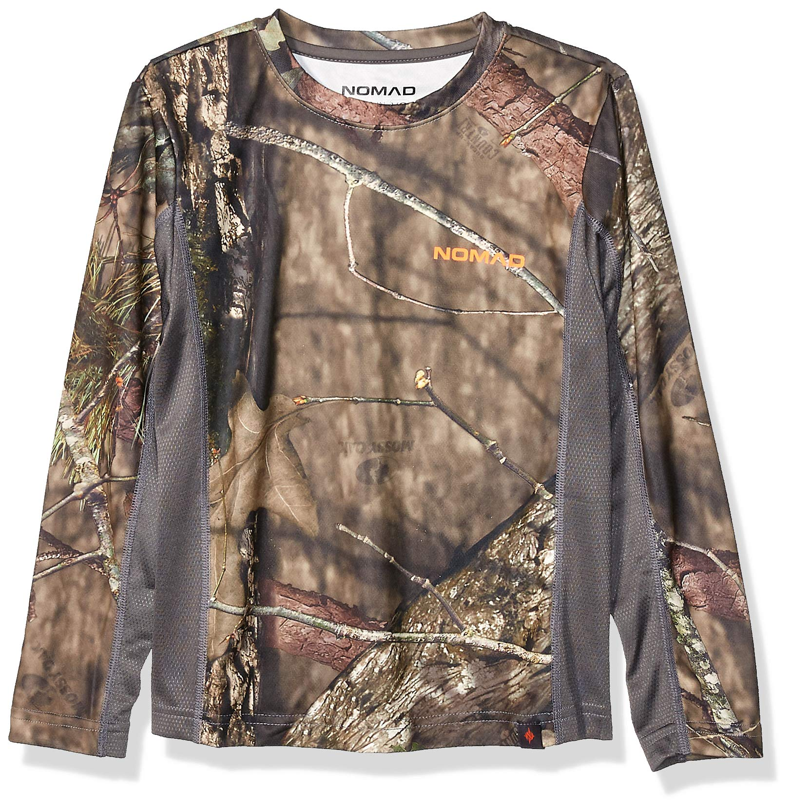 Nomad Kids' Standard Youth Long Sleeve Icon, Mossy Oak Break Up Country, Medium by Nomad Outdoor