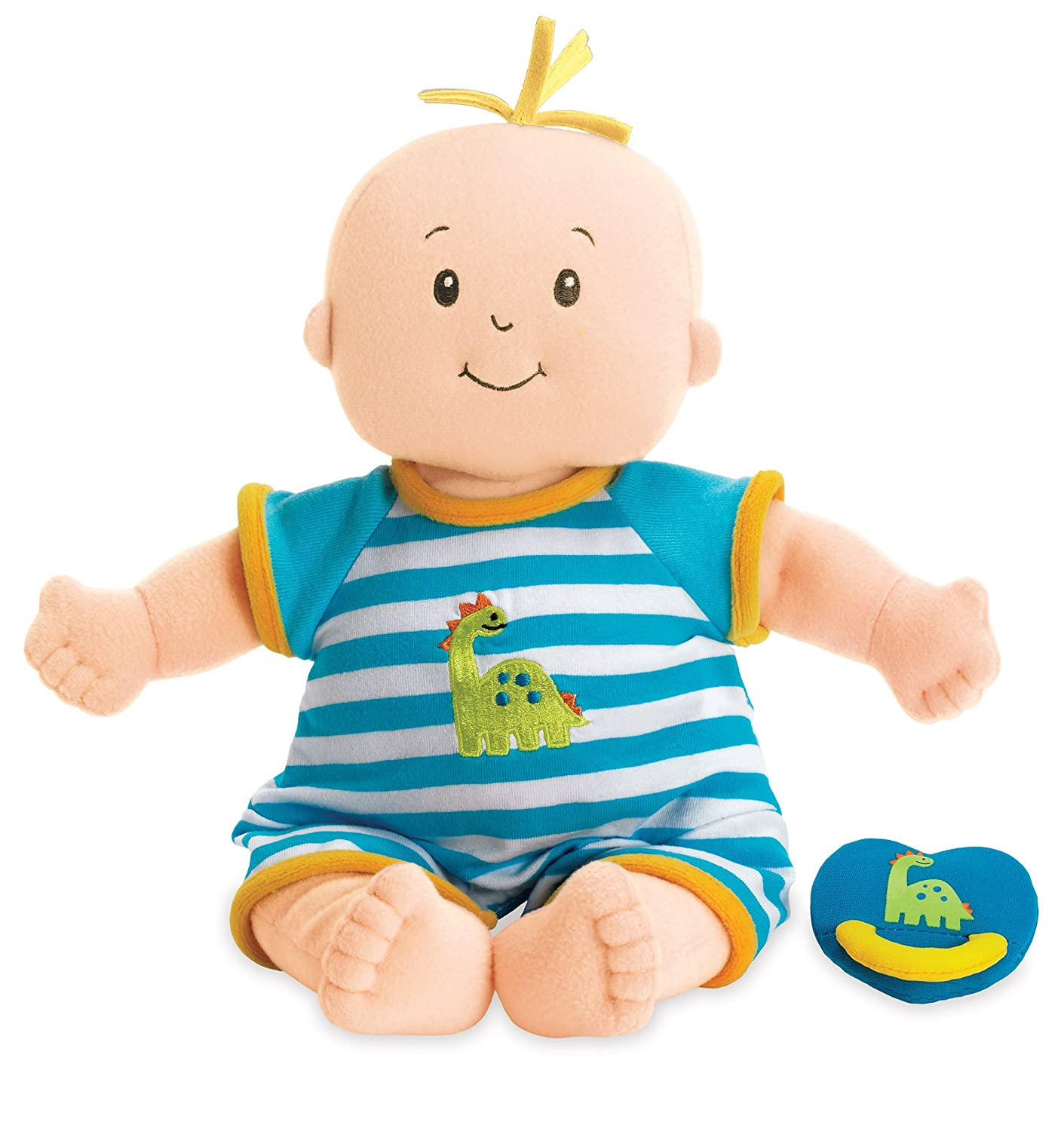 02c3c946e Amazon.com: Manhattan Toy Baby Stella Boy Soft First Baby Doll for Ages 1  Year and Up, 15