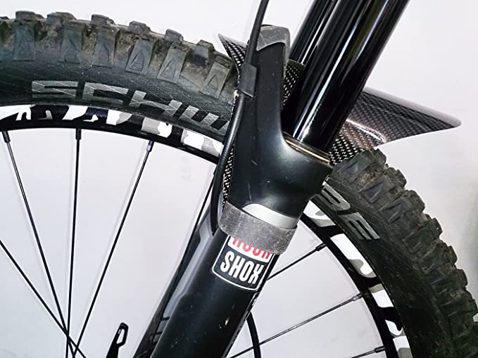 Alomejor Yanmeer Kit Autocollants V/élos VTT D/écalcomanie Bicyclettes Prot/ège Cadre Chainstay D/écoration en Plastique