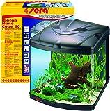 Sera 31102biotop Nano Cube 60un éclairage T5de Aquarium complet avec PL 60L Eau Douce et filtration
