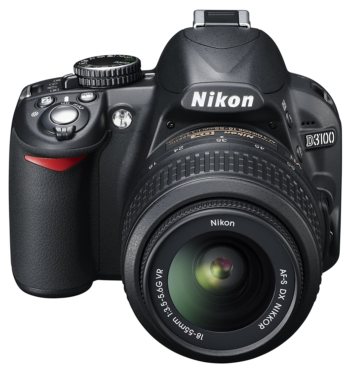 Nikon D3100 Digital SLR Camera with 18-55mm VR Lens Kit: Amazon co
